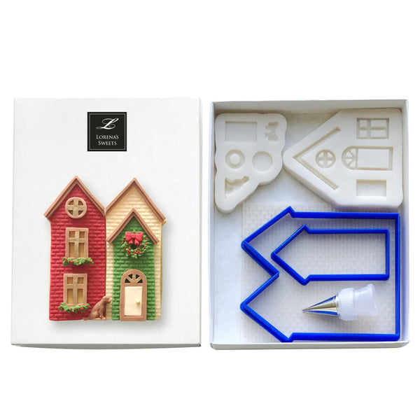 Cookie Decoration Kit - Christmas House