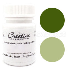 Creative Natural Paste Colours - Green - 20g
