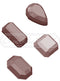 Chocolate Mould - Precious Stones - Polycarbonate