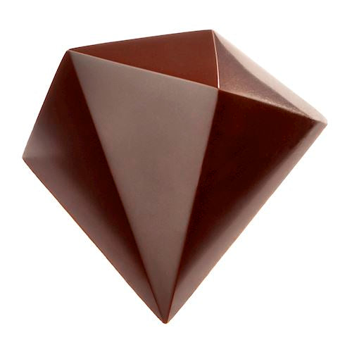 Chocolate Mould - Triangular Diamond (by Davide Comaschi) - Polycarbonate