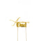Cake Toppers - Awesome Dad - Gold Plated Metal