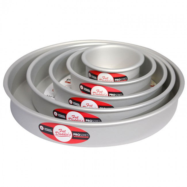 Round Cake Pan / Tin (3 inches deep) - Fat Daddio