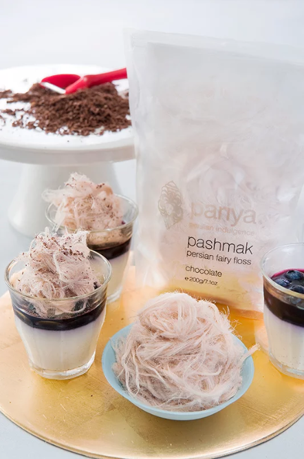 Chocolate - Pashmak Persian Fairy Floss
