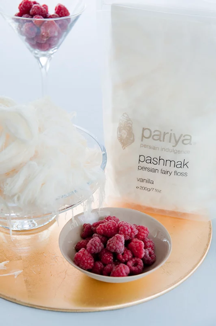 Vanilla - Pashmak Persian Fairy Floss