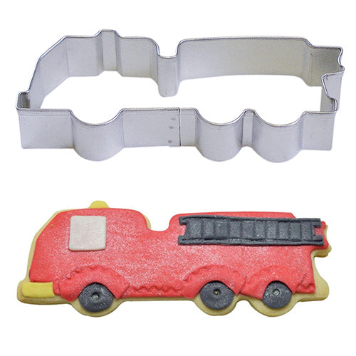 FIRE TRUCK STAINLESS STEEL COOKIE CUTTER