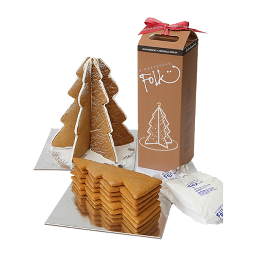 Gingerbread Tree Kit - Traditional