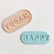 Embosser - Happy Pill by Little Biskut
