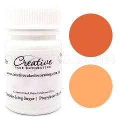 Creative Natural Paste Colours - Orange - 20g