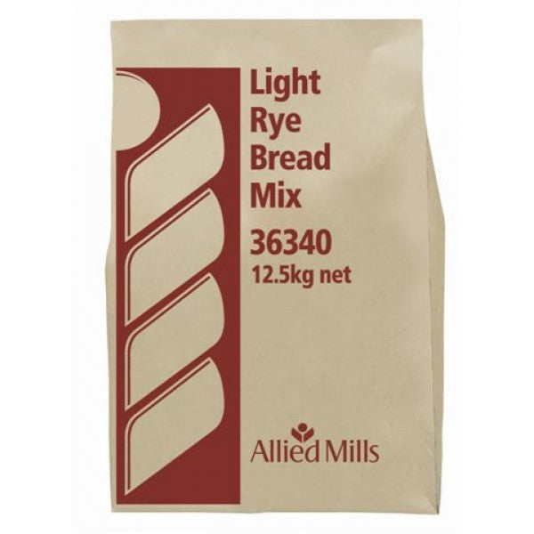 Bread Mix -  Light Rye Bulk 12.5kg - Allied Mills
