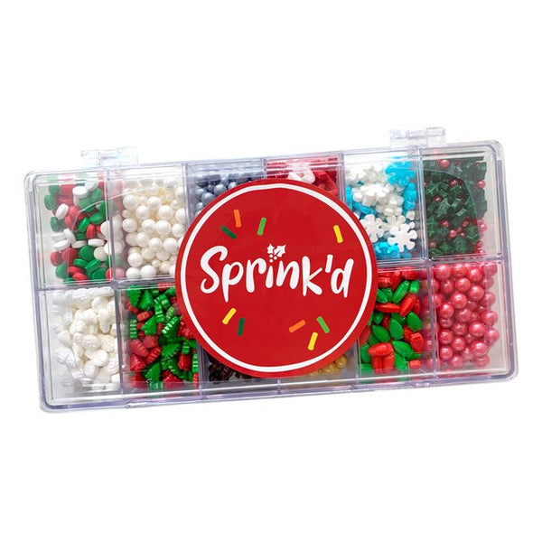Sprinkle Mix - Christmas Bento Box 300g
