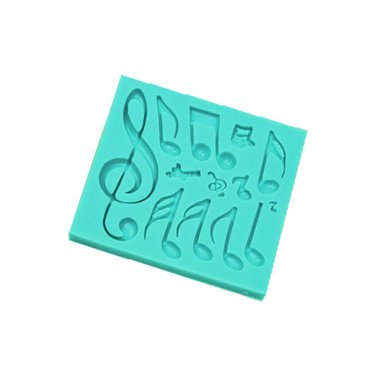 Silicone Mould - Music Notes