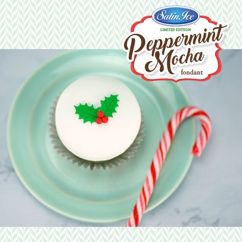 Peppermint Mocha RTR Fondant 910g - Limited Edition - Satin Ice