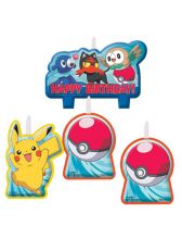 Pokemon 4 Pc Candle Set