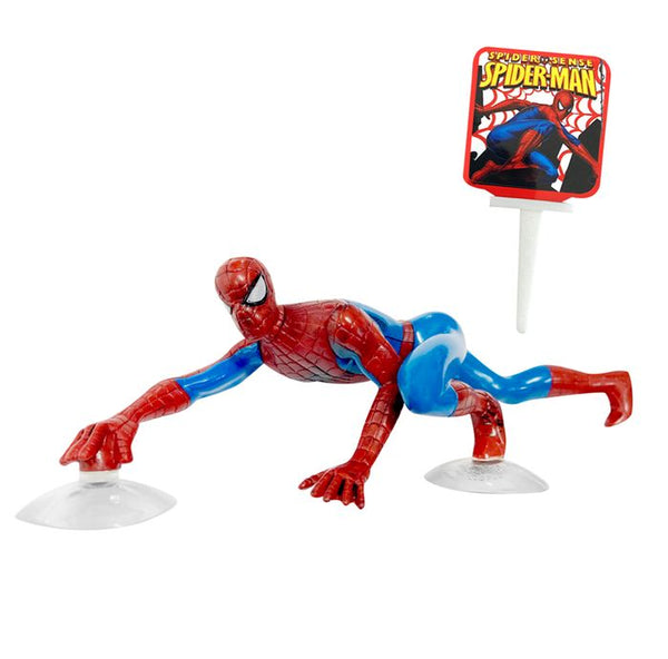 SPIDERMAN CLIMBING DECORATION SET WITH PICK