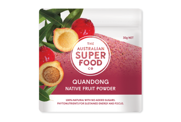 Quandong Peach Powder 25g - Australian Super Food Co - Freeze dried