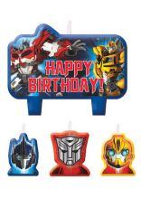 Transformers 4 Pce Candle Set