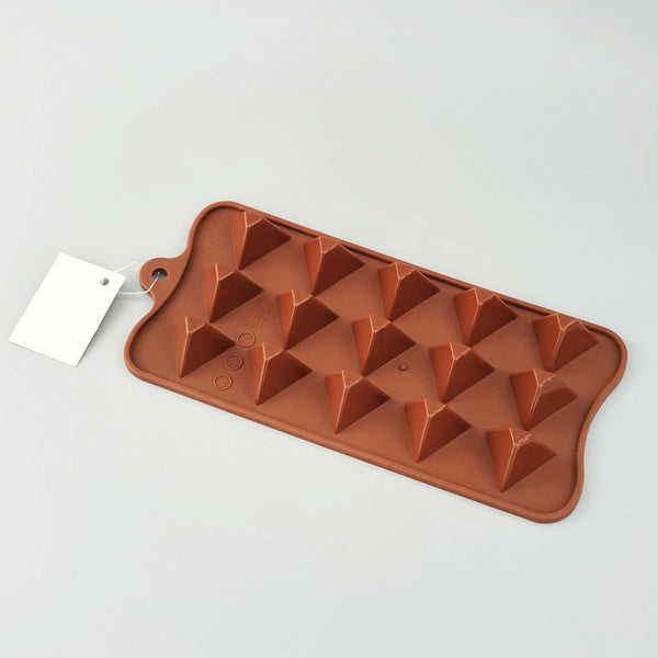 Triangle Silicone Mould - 15 Cavity