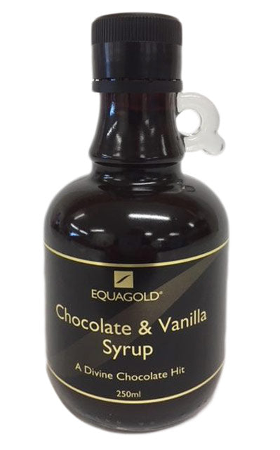Chocolate & Vanilla Syrup 250ml