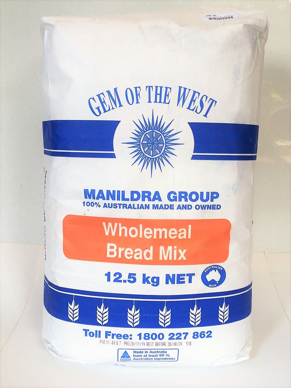Bread Mix - Wholemeal Bulk 12.5kg - Manildra