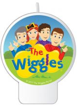 Wiggles Flat Candle