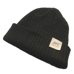 Ribbed Fisher beenie Les Arc