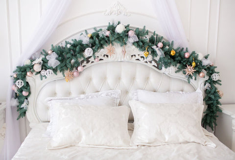 Christmas Headboard Photography Backdrops Prop