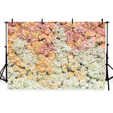 Wedding Valentine's Day Mother's Day Flower Wall Photography Backdrop