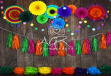 Fiesta Wood Colorful Backdrops for AGR Photography