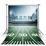 Green Grass Backdrop Sports Field Photography Background