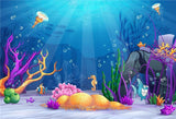 Undersea Summer Birthday Backdrops for Photography Prop