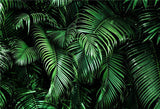 Tropical Leaves Holiday Summer Photo Booth Prop Backdrop