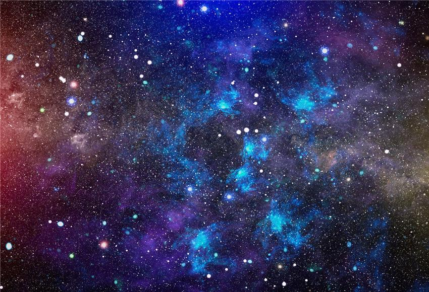 Space Universe Stars Photo Backdrop