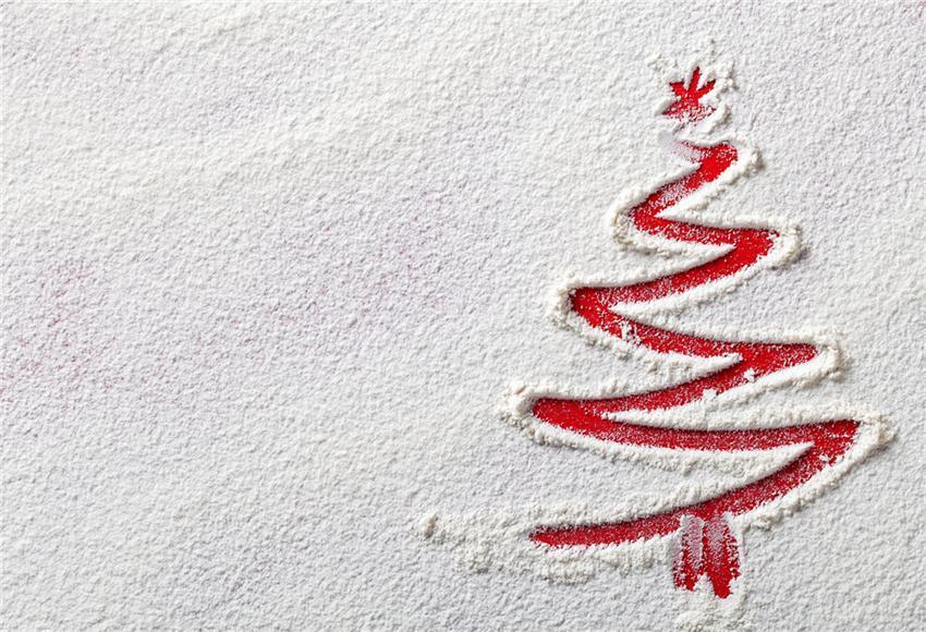Snow Christmas Photography Backdrop Prop
