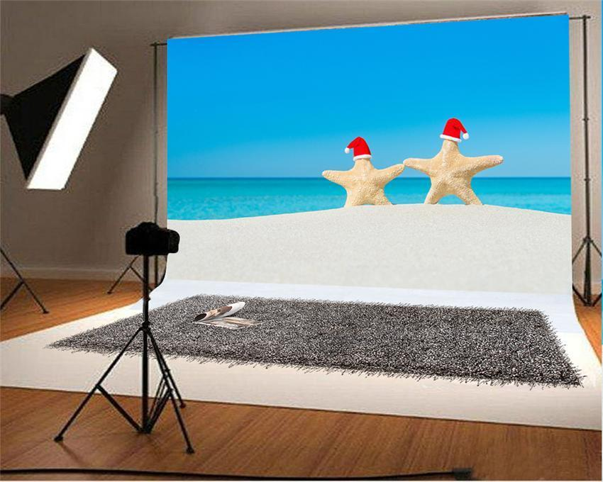 Summer Candy Starfish Photography Backdrop