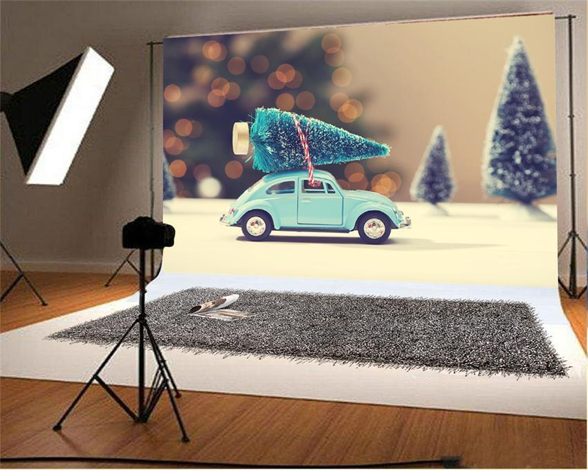 Glitter Christmas Mini Pine Backdrops