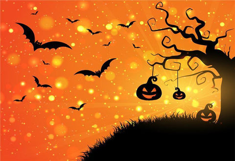 Shiny Halloween Photography Backdrop