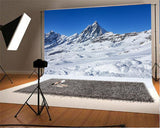 Snow Mountain Photo Backdrops