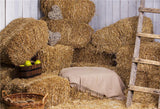 Autumn Straw Fall Photography Prop Backdrop