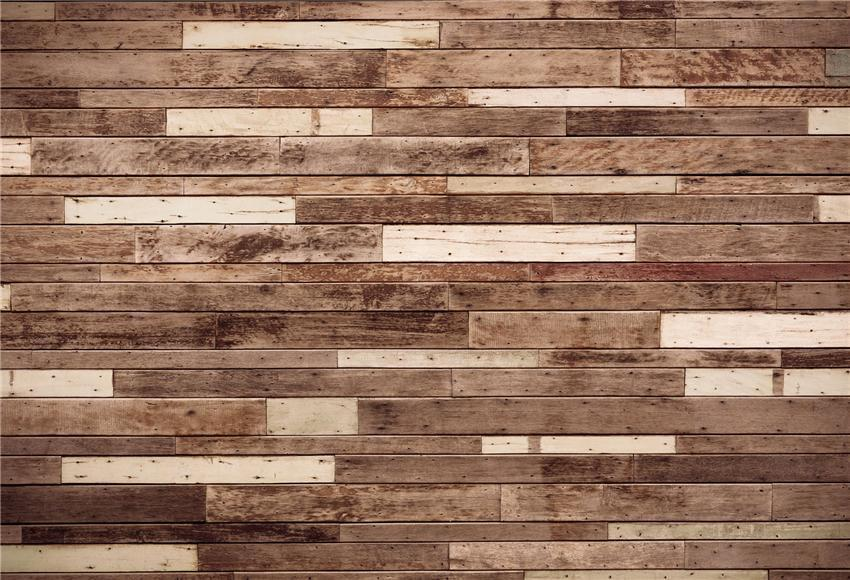 Brown and White Wooden Texture Rustic Backdrops