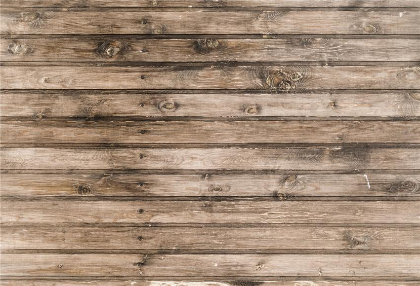 Vintage Wooden Grain Baby Photography Backdrop