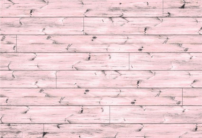 Pink Wood Wall Texture Photography Backdrop