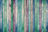 Colorful Wood Wall Photography Backdrops for Party
