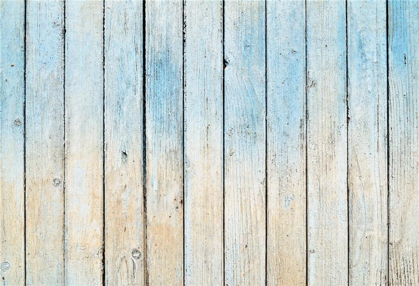 Blue and Beige Birthday Wood Wall Backdrop