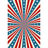 American Flag Pattern Backdrops for July 4th Independence Day Photography