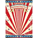 American Flag Pattern Backdrops for July 4th National Flag Day Photography