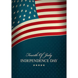 Painted American Flag For Independence Day National Day Backdrop