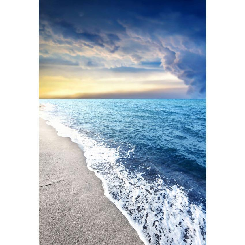 Spindrift Blue Sea Beautiful Sky Backdrop Sea Summer Scenery Photography Backgrounds