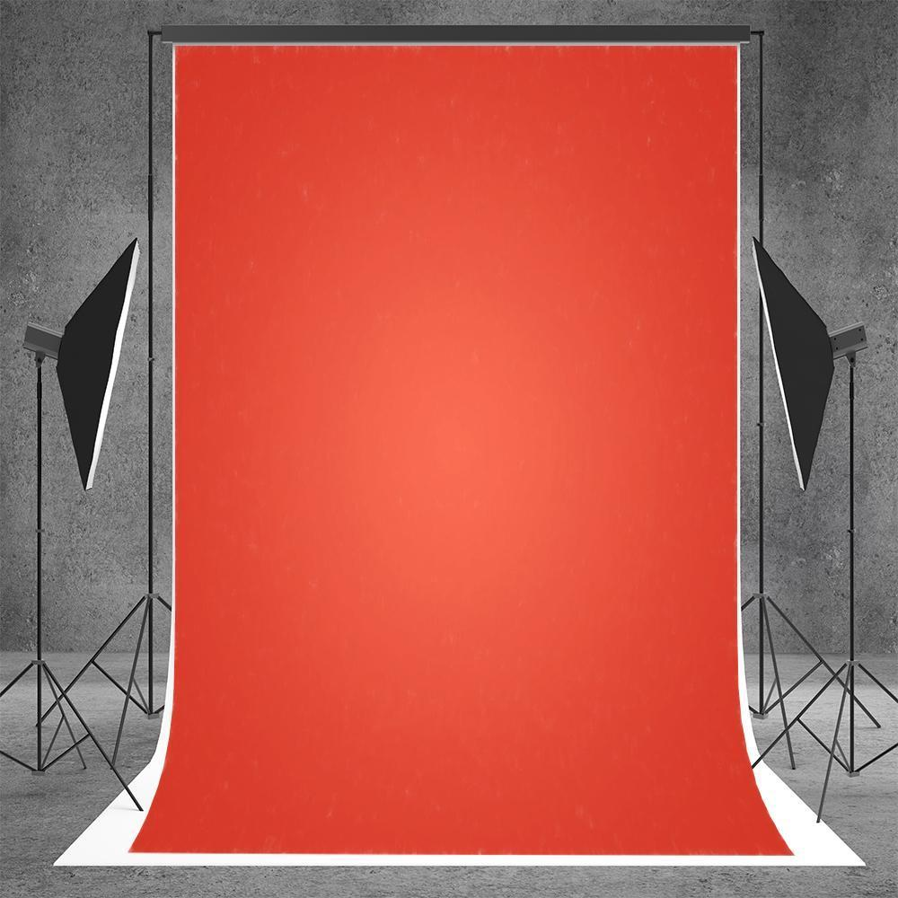 Tomato Solid Fabric Photography Backdrop for Workshop