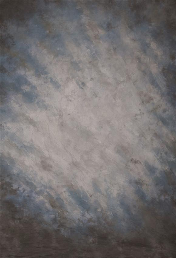 Ink Blue Grey Texture Abstract Photography Backdrop Prop