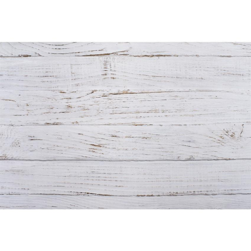 Milk White Wood Floor Texture Backdrop for Photo Booth